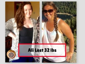 Ali Hallinan Lost 32 Pounds