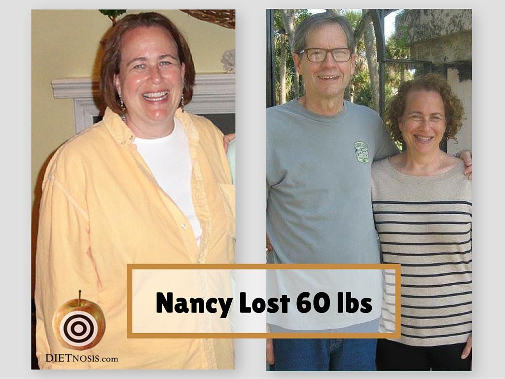 Nancy Berry lost 60 pounds