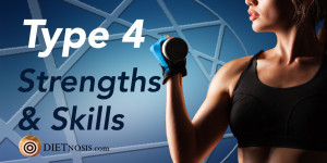 Enneagram Type 4 Diet Strengths and Skills